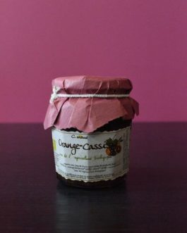 Confiture Orange cassis